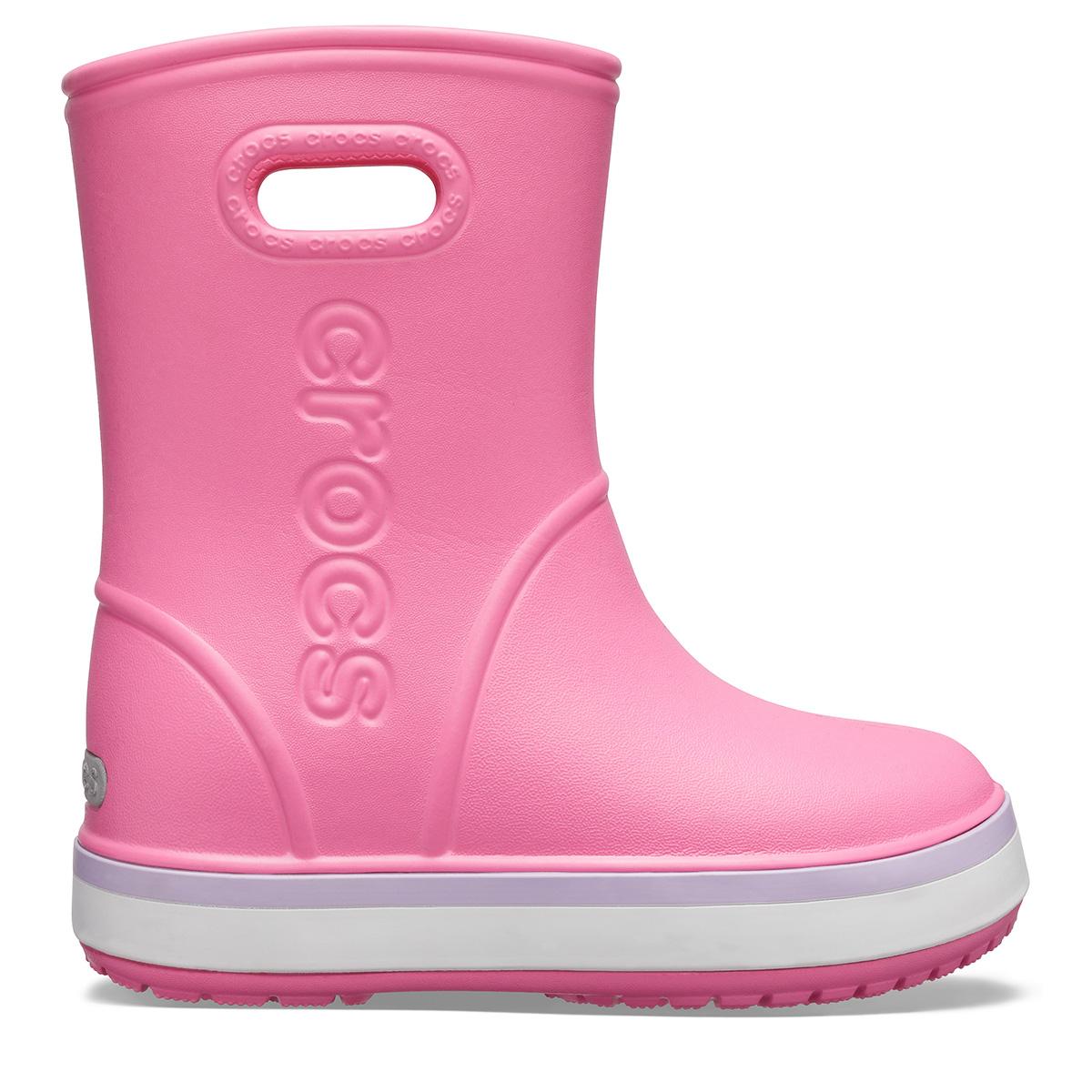Crocband Rain Boot K - Pembe Limonata/Lavanta