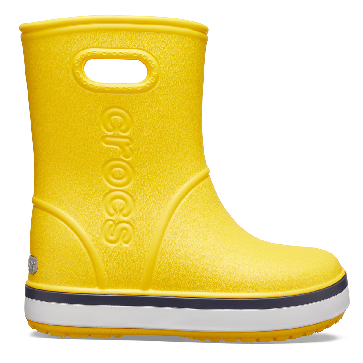 Crocband Rain Boot K - Sarı/Lacivert