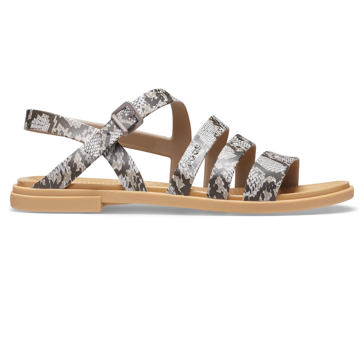 Crocs Tulum Sandal W-Mantar/Sıva Rengi
