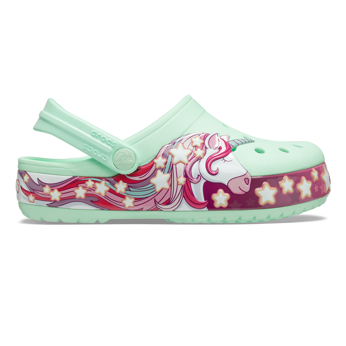 Crocs FunLab Unicorn Band Cg K -Mint