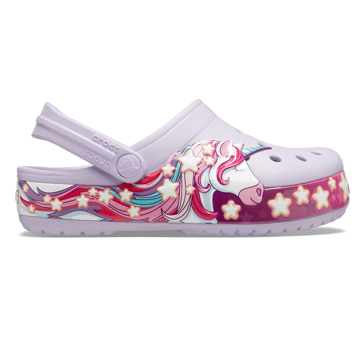Crocs FunLab Unicorn Band Cg K - Lavanta