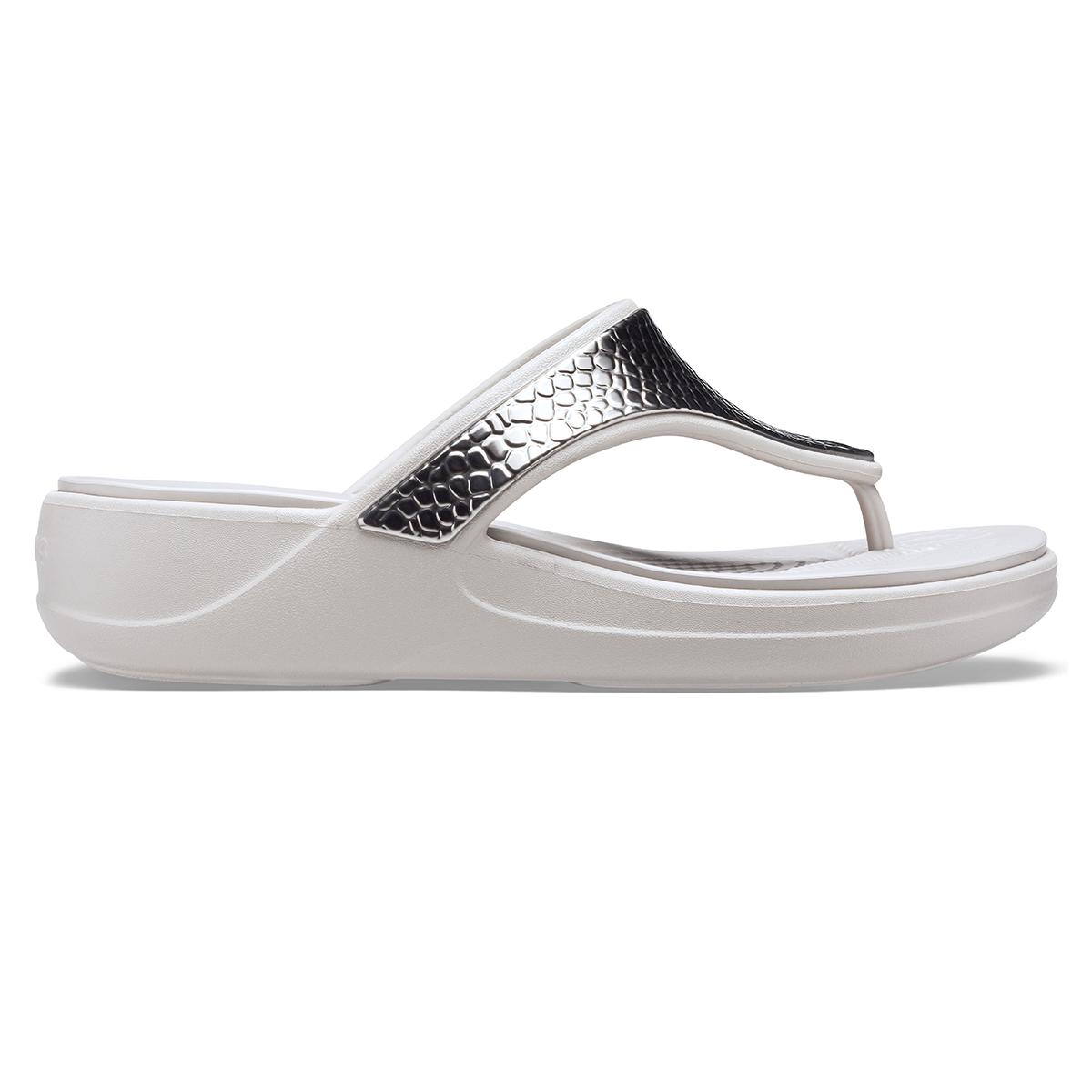 Crocs Monterey Metllc Wdg Fp W-Gümüş/Platin