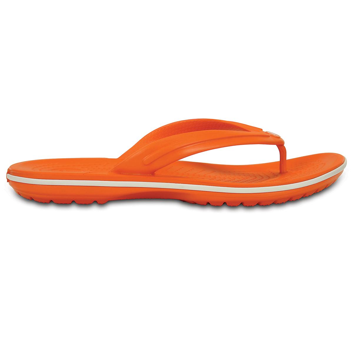 Crocband Flip-Turuncu/Beyaz