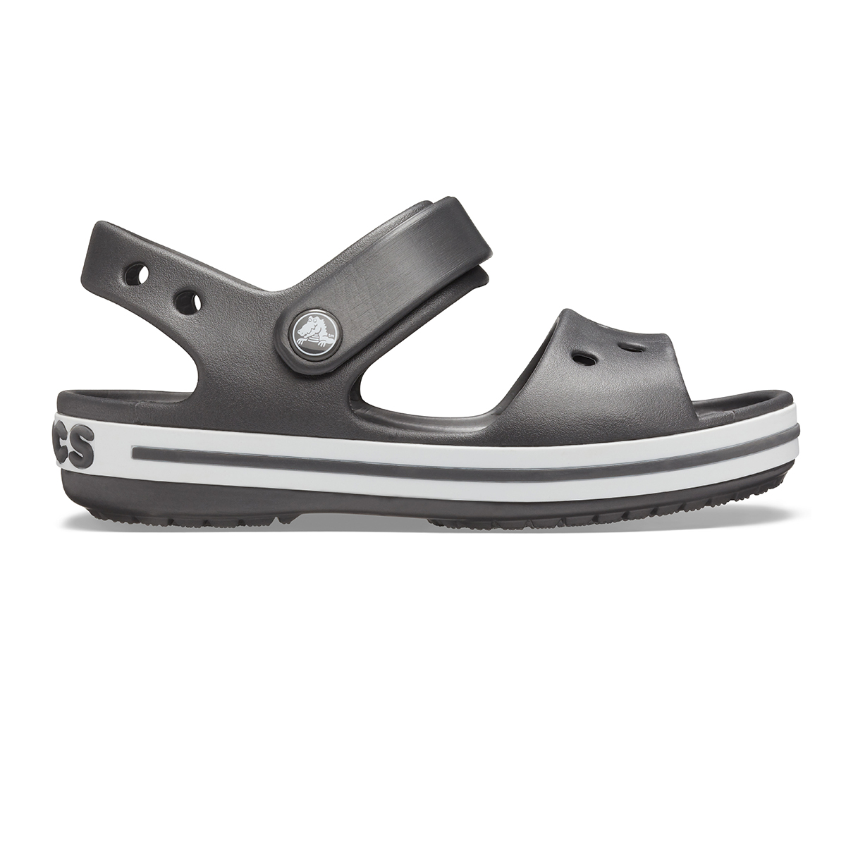 Crocband Sandal Kids-Grafit