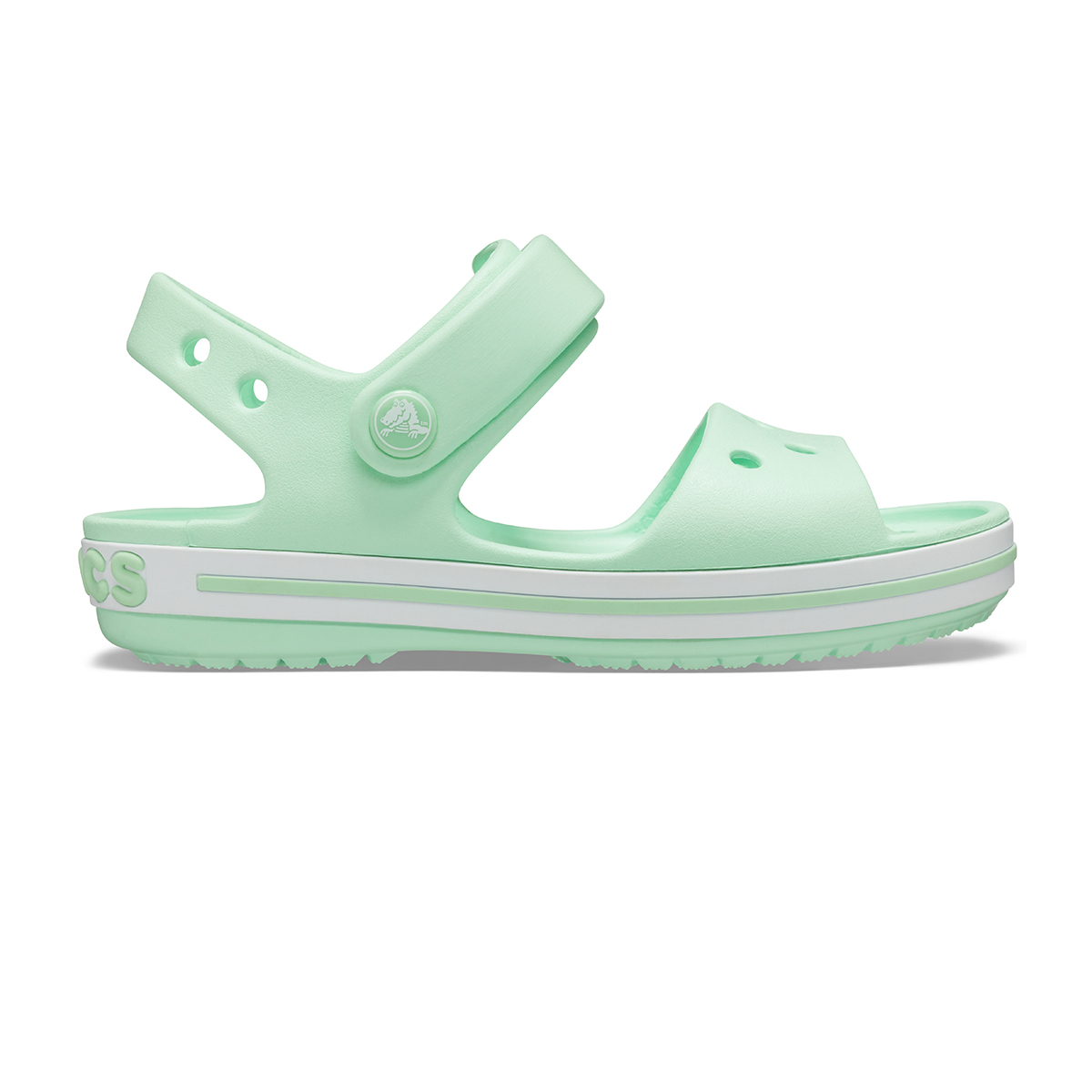 Crocband Sandal Kids-Neo Mint