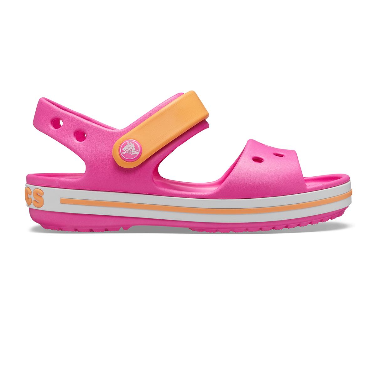 Crocband Sandal Kids-Elektrik Pembe/Kavun