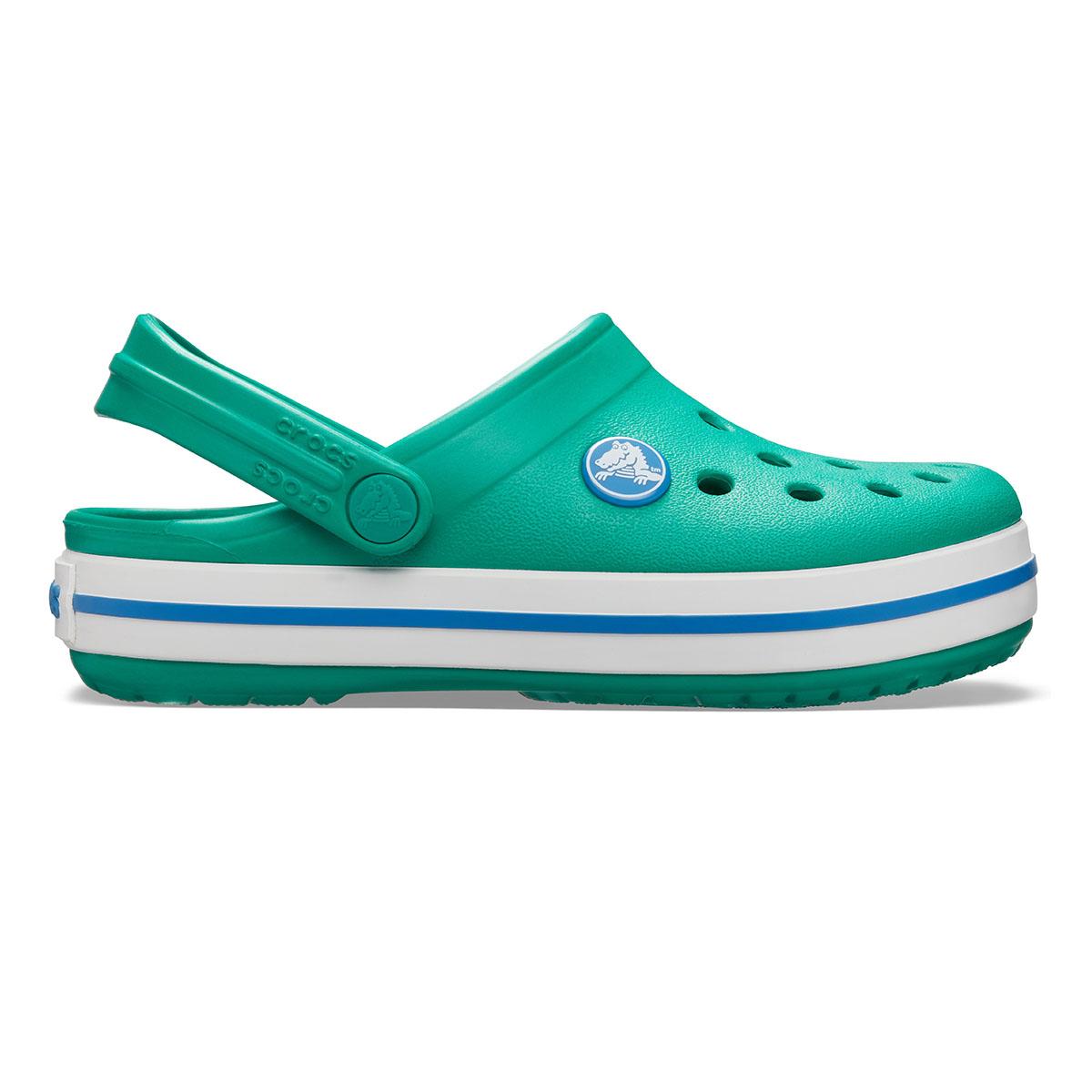 Crocband Clog K-Koyu Yeşi/Mavi