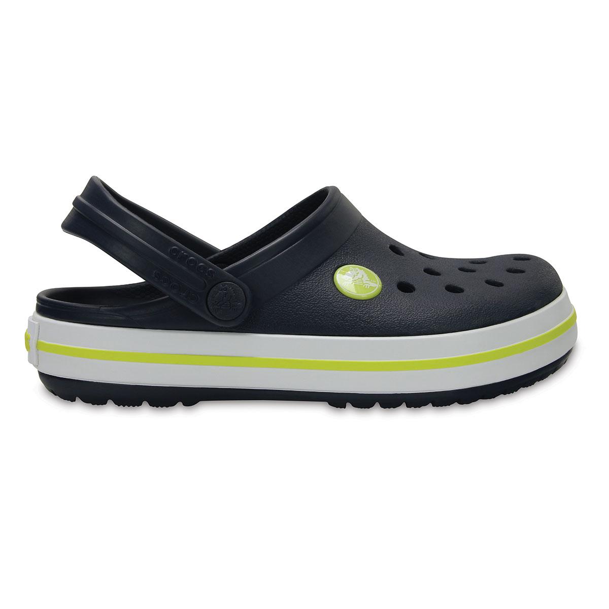 Crocband Clog K-Lacivert/Turunçgil