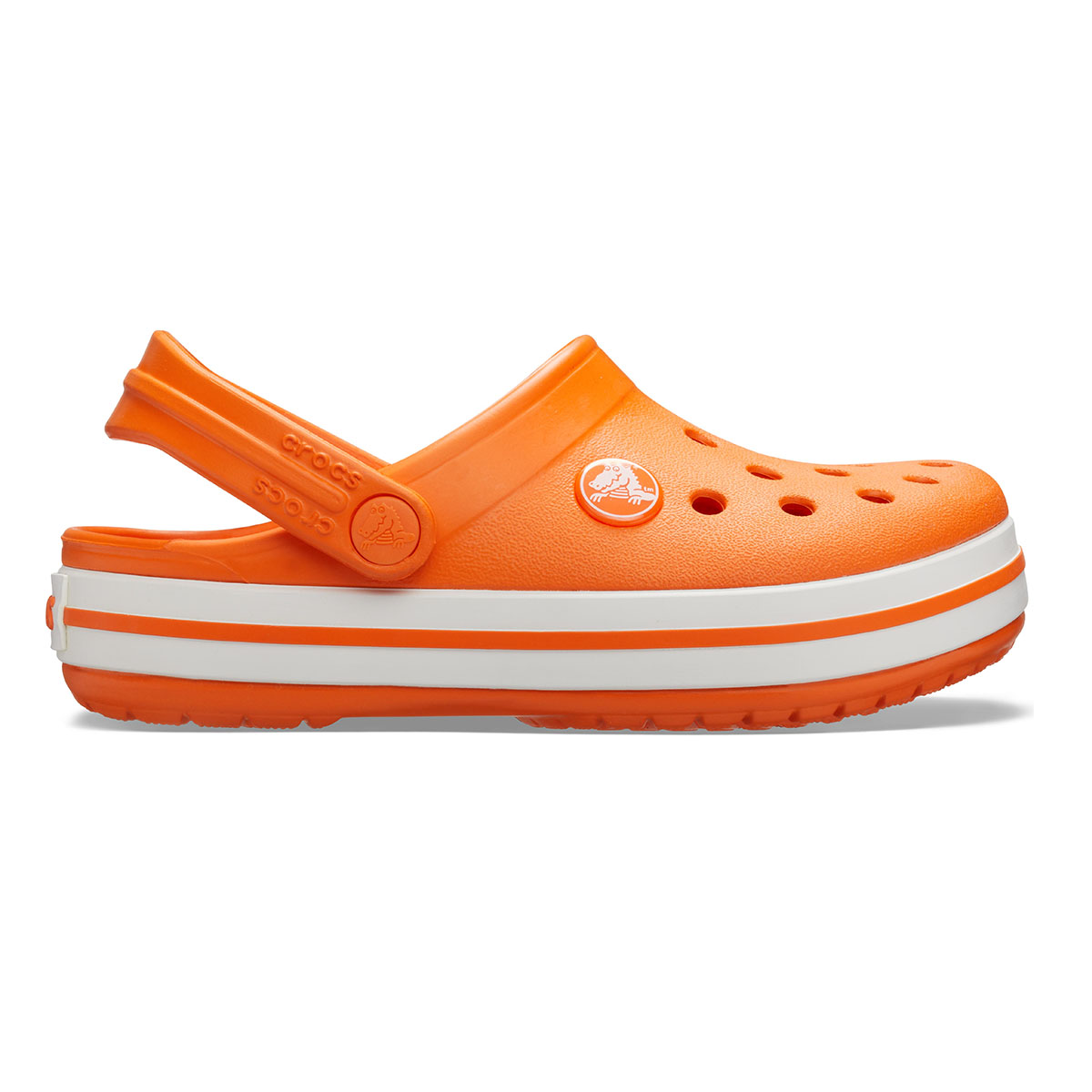 Crocband Clog K-Turuncu