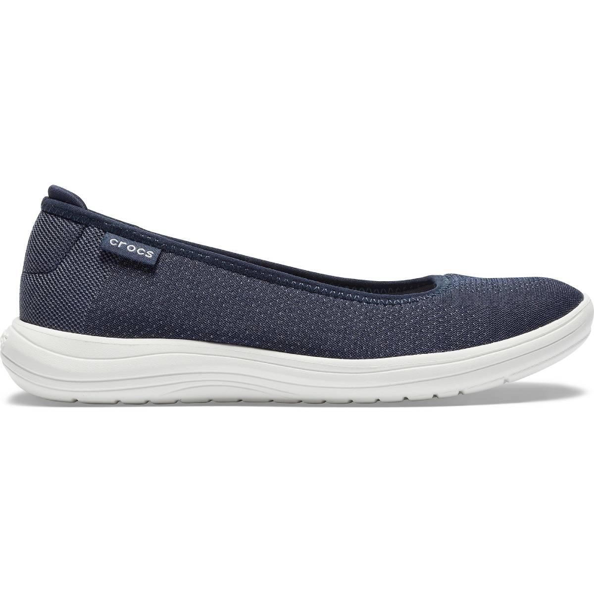 Crocs Reviva Flat W - Lacivert/Beyaz