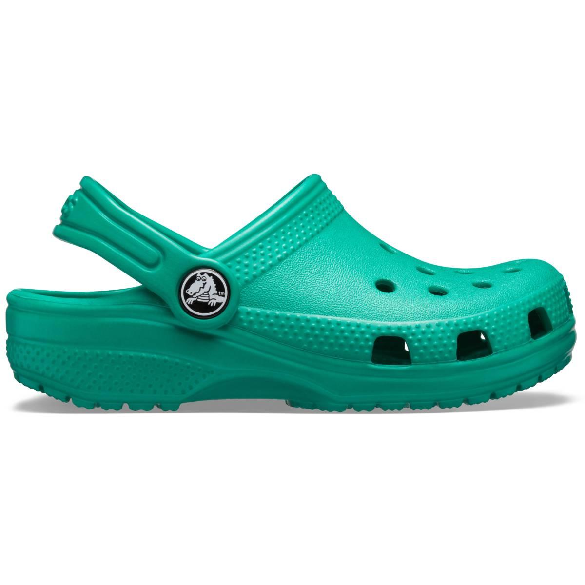 Classic Clog K -Koyu yeşil