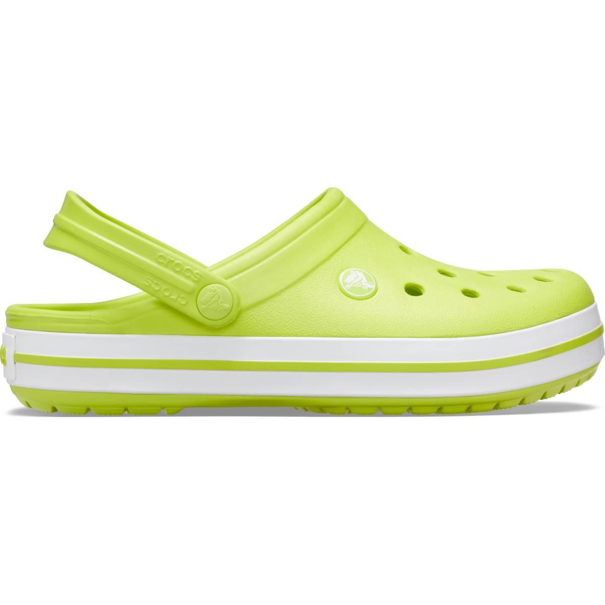 Crocband-Lime Punç/Beyaz