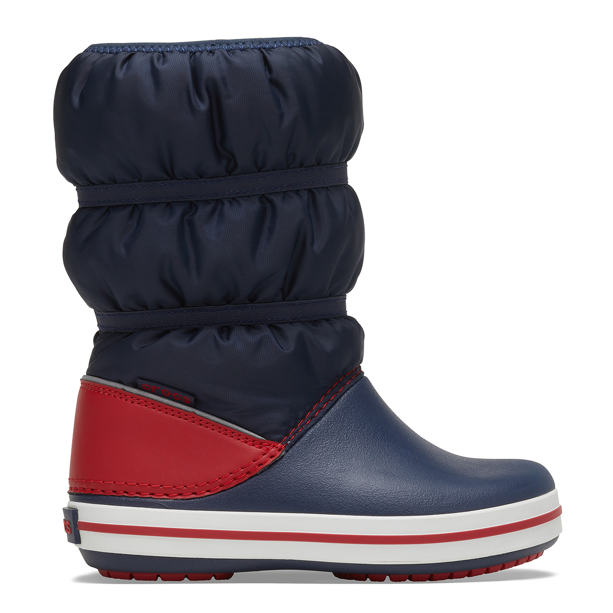 Crocband Winter Boot K - Lacivert/Kırmızı