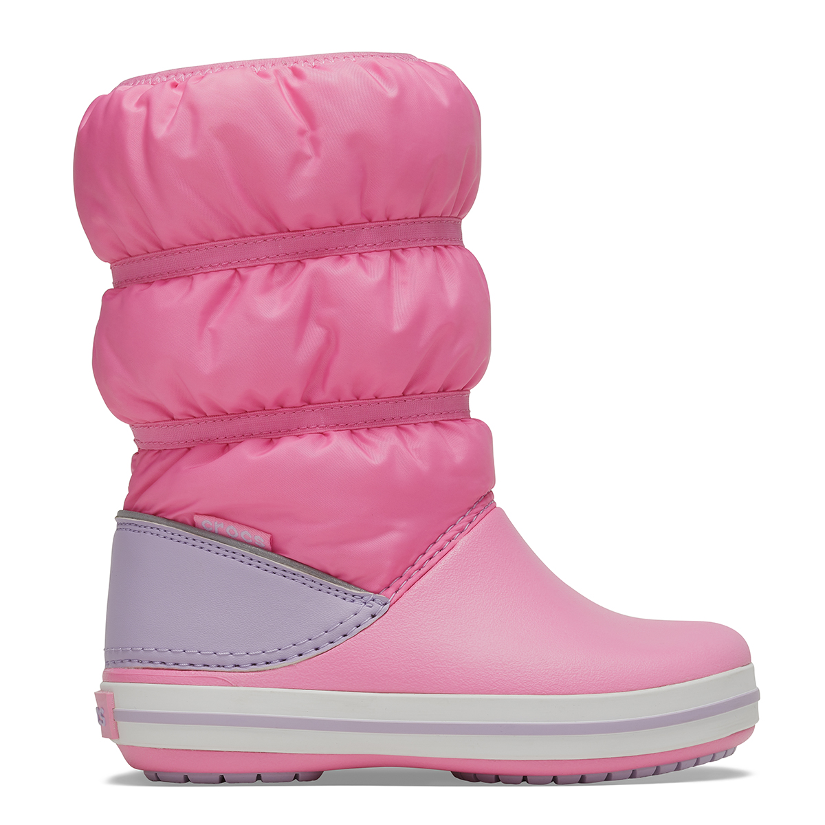 Crocband Winter Boot K - Pembe Limonata/Lavanta