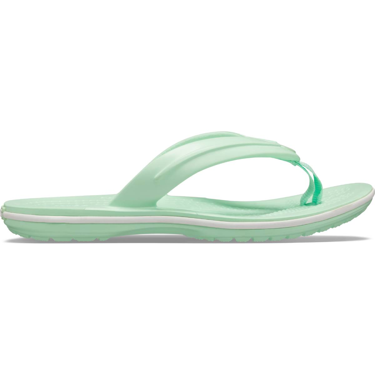Crocband Flip GS - Neon Mint