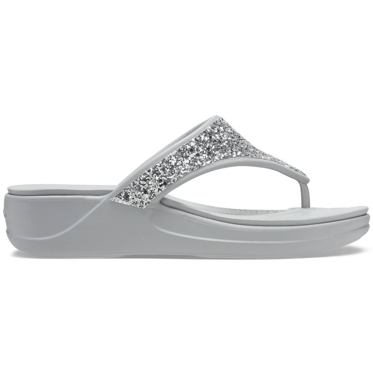 Crocs Monterey Glitter WgFp - Gümüş