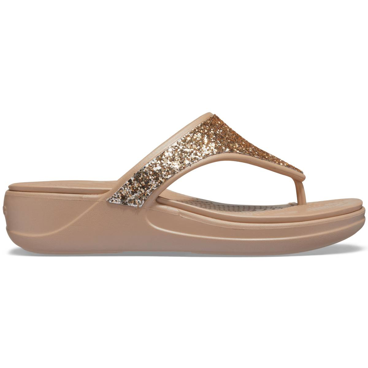 Crocs Monterey Glitter WgFp - Altın