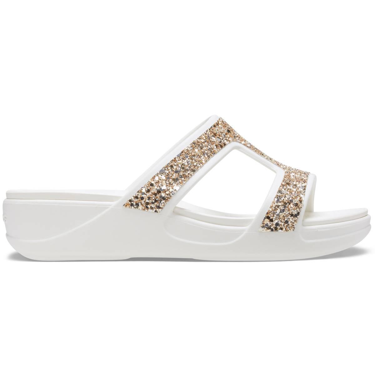 Crocs Monterey Glitter Slip On Wdg - Çok renkli