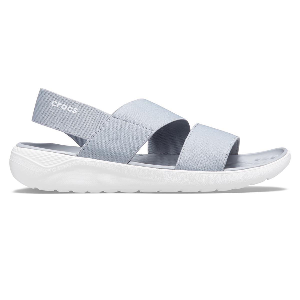 LiteRide Stretch Sandal W - Light Grey/White