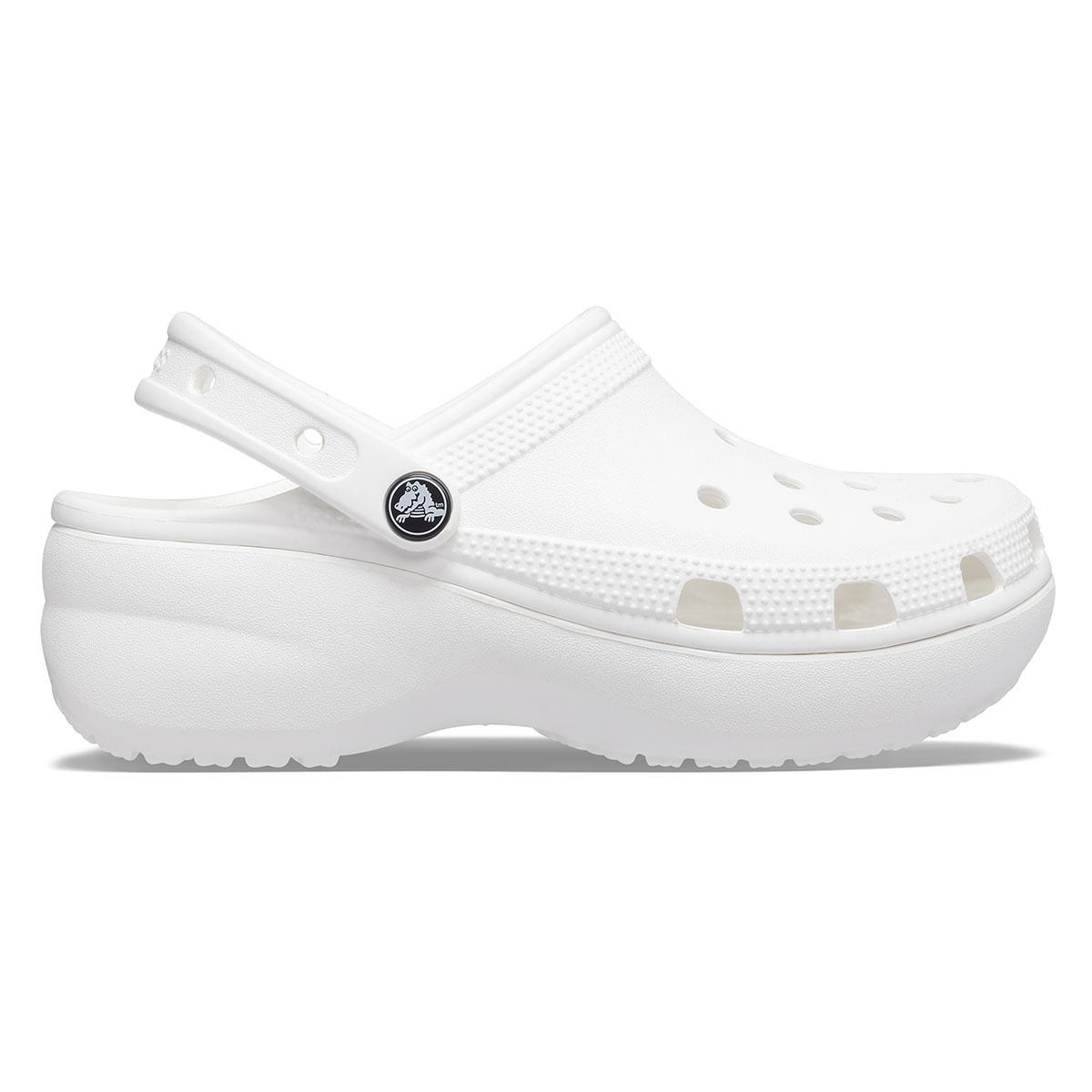 Classic Platform Clog W - Beyaz