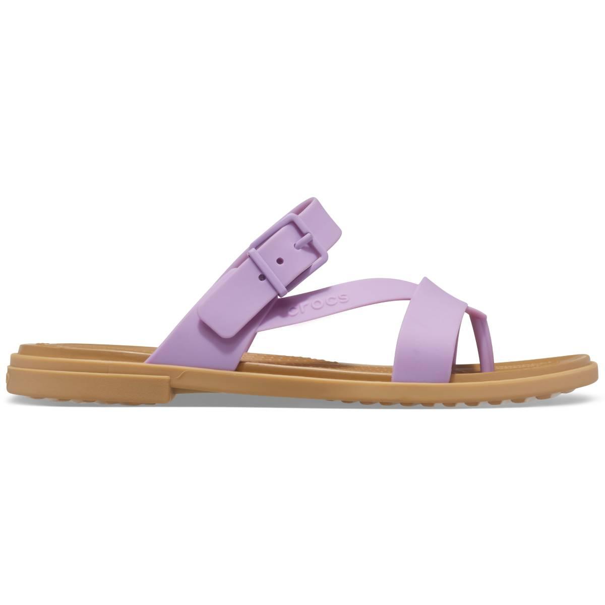 Crocs Tulum Toe Post Sandal W - Orchid