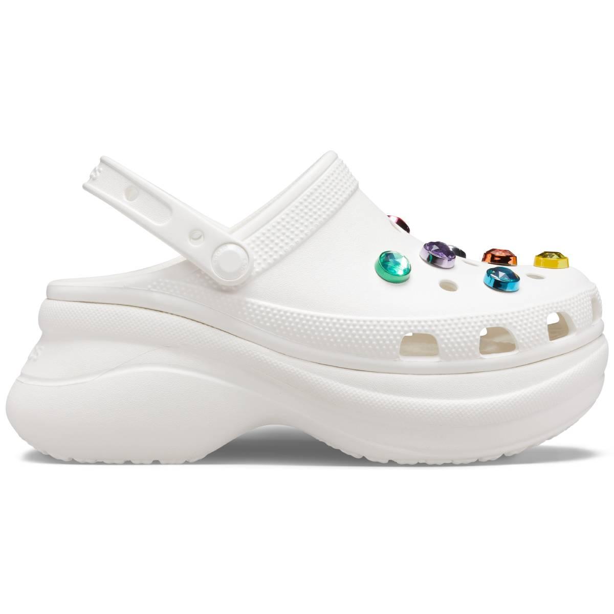 Crocs Classic Bae Gem Clog W - Beyaz